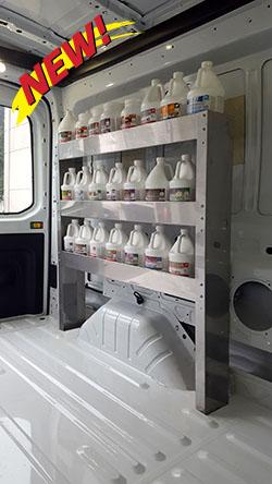 chemical  tier shelf forddodgenissan hydramaster