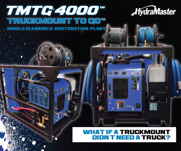 HydraMaster Truckmounts, Portables and Restoration Equipment