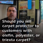carpet protector for olefin polyester triexta