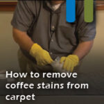 coffee stains carpet