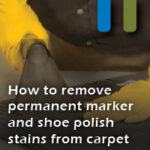 remove permanent marker and shoe polish
