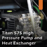 Titan 575 pressure pump heat exchanger