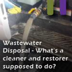 waste water disposal