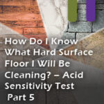 floor indentification acid sensitivity