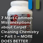 carpet misconceptions more is better