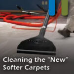 cleaning new softer carpets