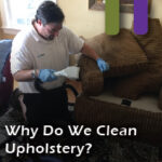 why clean upholstery